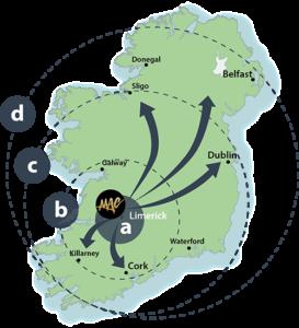 Map Of Ireland Mac Creative
